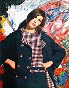 Avenue (Dutch) February 1966 Stedelijk Museum Amsterdam - Photo Paul Huf - painting Karel Appel