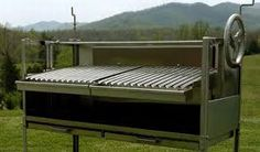 large charcoal grill with adjustable grate height - Google Search