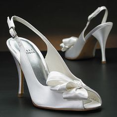 stuart weitzman botero white & ivory  Wedding Shoes