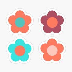 Aesthetic Bib Flower Sticker Pack Line Floral Art Flowers Sticker By Ab Shop Flower Art Floral Art Pride Stickers