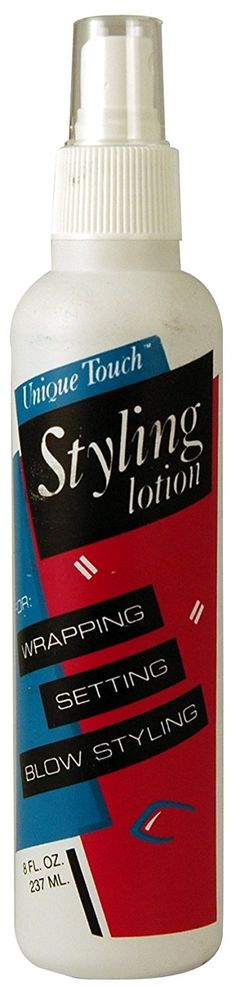 Unique Touch Blow Dry Lotion 8 oz. (Pack of 6) -- This is an Amazon Affiliate link. For more information, visit image link.