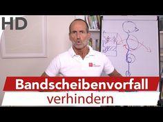 Bandscheibenvorfall Übungen Faszienrolle // Übungen gegen einen Bandscheibenvorfall - YouTube