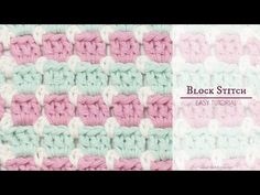 Hopeful Honey | Craft, Crochet, Create: How To: Crochet The Block Stitch - Easy Tutorial