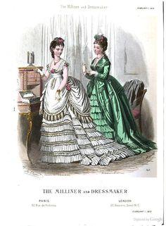 The Milliner & Dressmaker 1870