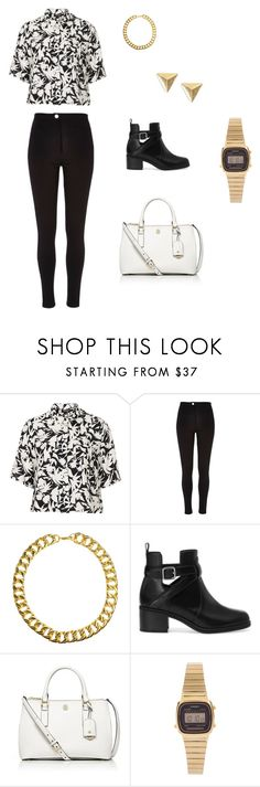 """Star girl"" by heathermcconnell5 ❤ liked on Polyvore featuring Topshop, River Island, Gogo Philip, Pull&Bear, Tory Burch and Casio"