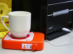 USB Gas Stove Cup Warmer