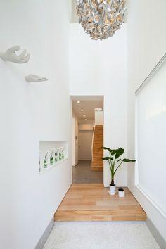 deco couloir feng shui moderne