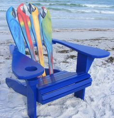 Adirondack Chair - Parrot Design