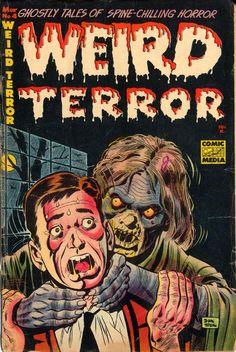 WEIRD TERROR #4, March 1953 Rare Original Pre-Code Golden Age Horror Comic Book from The Keith Wigdor Collection