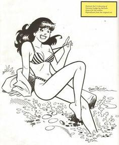Veronica by Dan DeCarlo comic books comics Comic Books Art, Comic Art, Archie Comics Veronica, Comic Character, Character Design, Pop Art, Dan Decarlo, Betty & Veronica, Sexy Cartoons