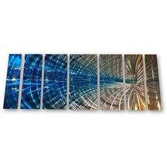 @Overstock - Ash Carl 'Winsome Web' 7-piece Metal Wall Art Set - This sculptural Ash Carl metal wall art will add a depth and dimension to your home and will become a centerpiece in any room. Seven distinct metal panels combine for a unique and interesting piece of art that will turn the heads of all who see it.    http://www.overstock.com/Home-Garden/Ash-Carl-Winsome-Web-7-piece-Metal-Wall-Art-Set/5288847/product.html?CID=214117  $334.99