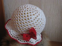 Crochet summer sun hat. by Spillija on Etsy, $20.00