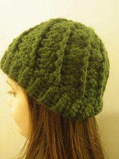 Chunky Swirl Beanie in your color choice Crochet by CrochetByMel