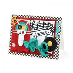 Jukebox Party Card