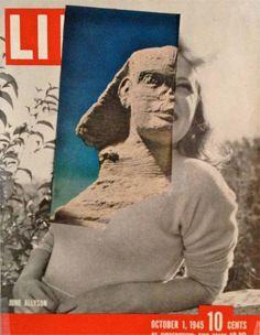 "Saatchi Art Artist Deborah Stevenson; Collage, "" Stony Gaze "" #art"