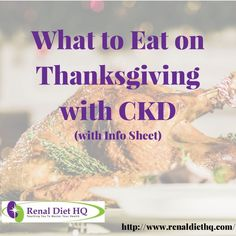 What to Eat on Thanksgiving with CKD (with Info Sheet) For those with chronic kidney disease, a large family meal like Thanksgiving dinner may seem daunting. Gone are the days you can simply fill your plate with anything and everything on the menu. Renal Diet Menu, Healthy Toddler Meals, Toddler Food, Kidney Friendly Foods, Kidney Health, Kidney Detox, Kidney Recipes, Large Family Meals, Healthy Holiday Recipes