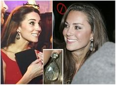 Kate&Sophie Blogs (@AnnieElizabethN) on Twitter: Duchess of Cambridge in earrings from her personal collection, November 2016 (left) and 2008 (right)