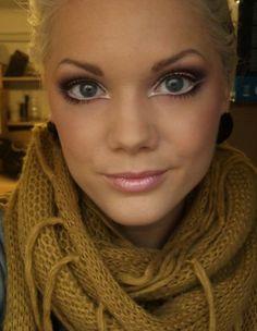 White eyeliner.