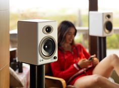 Building the Ultimate Audio System  Step 1: Powered Speakers A high-quality pair of powered speakers is the keystone of any home entertainment setup.  Read more--->