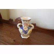Vaso Antigo Porcelana Santa Therezinha