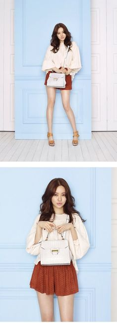 Actress Yoon Eun Hye is a trendy working women with 'Samantha Thavasa' | allkpop.com