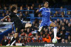 El Chelsea-Barça, en imágenes (18/04/2012)
