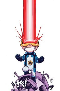 Cyclops #1 Young Variant by Skottie Young