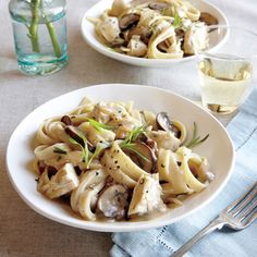 Chicken and Mushroom Stroganoff | CookingLight.com #myplate #protein #veggies