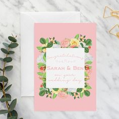 Not sure what to write in a wedding card? We've got tips and advice relevant no matter who the card is for!    #weddingplanning #wedding #weddingstationery #weddings