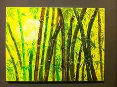 Bamboo forest  acrilic on canvas 80x60