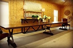 Reclaimed Pine Banquet Table