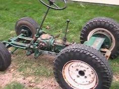 Image result for garden tractor projects