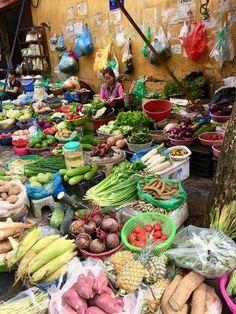 A market in Hanoi.
