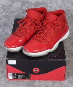 220174023107 Nike Air Jordan Retro XI 11 Win Like  96 Gym Red Shoes Sz 14 w