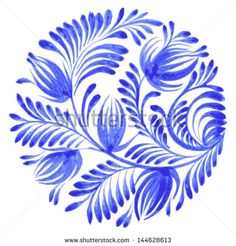 Watercolour Flowers Stock Photos, Images, & Pictures | Shutterstock