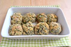 Polpette con spinaci e besciamella
