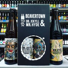 New beer. Dr Jekyll & Mr Hyde colab between @beavertownbeer & @toolbeer in stock now