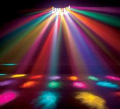 Disco lights.... I live for the dance floor, I absolutely LOVE to dance :)…