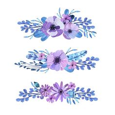 Find Vector Floral Motif Watercolor Style Composition stock images in HD and millions of other royalty-free stock photos, illustrations and vectors in the Shutterstock collection. Vector Flowers, Flower Clipart, Arte Floral, Floral Motif, Watercolor Cards, Watercolor Flowers, Vintage Typography, Vintage Logos, Retro Logos