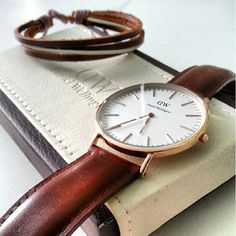 Daniel Wellington watch  http://www.danielwellington.com/us/classy-st-andrews-433