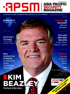 2012 June/July Edition of the Asia Pacific Security Magazine. Cover model: Kim Beazley.