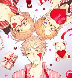 Hetalia ~ France, America and England