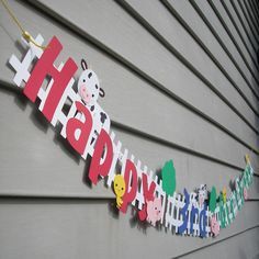 Reserved listing for - Farm animal party decorations Farm Animal Party, Farm Animal Birthday, Barnyard Party, Farm Birthday, 3rd Birthday Parties, Birthday Party Decorations, Farm Party Games, Birthday Ideas, Happy Birthday