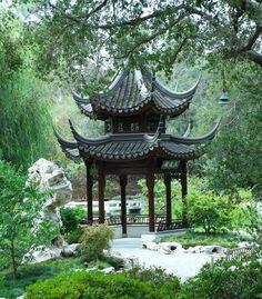 Chinese Garden at the Huntington Museum, Pasadena, CA