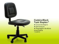 CADEIRA BLACK TASK™ STAPLES®