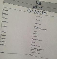 #VBSS15 tomorrow 10am x vb #NYFW