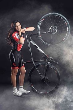 Tereza Huříková (born February 11, 1987 in Vimperk) >>> http://selfieonbike.com/tereza-hurikova-the-czech-photos/ <<< is a Czech professional road cyclist and mountain biker. Throughout her sporting career, she has won numerous Czech national championship titles in women's cross-country, road races and time trial, and more importantly, a prestigious gold medal in the junior time trial at the 2004 UCI World Championships.