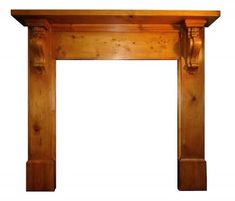 Buy online - See our Victorian circa 1880 pine fireplace wood surround - Price: - Part of our Range Fireplace Mantel Surrounds, Fireplace Frame, How To Antique Wood, Antique Items, Cast Iron, Entryway Tables, Pine, Restoration, Victorian