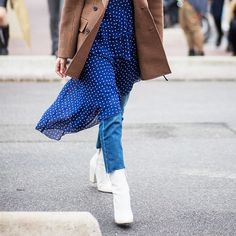Shop our editors' picks of the best white boots to wear all season long!