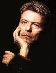 David Bowie, 8th November 1995. Photo by Kevin Cummins.